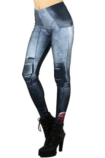 Wholesale Graphic Leg Armor Leggings
