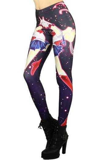 Wholesale Graphic Galactic Sailor Moon Leggings