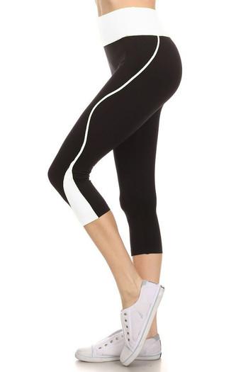 Wholesale Women's Flex Workout Capris