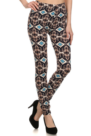 Front image of PL15BP063 - Wholesale Buttery Soft  Leggings