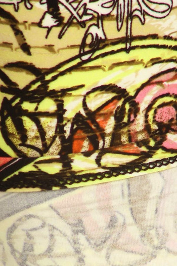 Wholesale Buttery Soft Street Graffiti Kid's Leggings