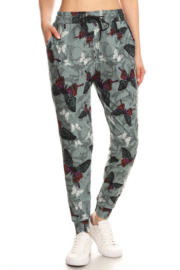 Wholesale Buttery Soft Gorgeous Butterfly Joggers