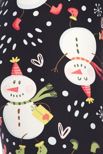 Wholesale Buttery Soft Frosty the Snowman Kids Leggings