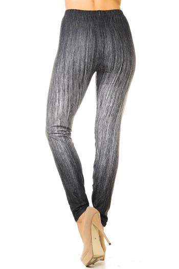 Wholesale Creamy Soft Vintage Ombre Fade Leggings - Multi-Size