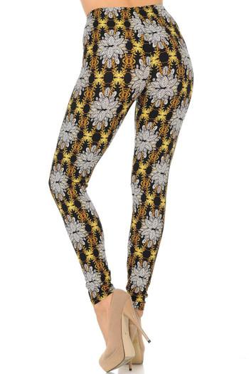 Wholesale Buttery Soft Elegant Emblem Leggings