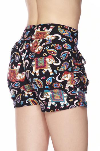 Wholesale Buttery Soft Classic Paisley Elephant Shorts