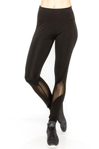 Wholesale Sport Mesh Performance Women's Workout Leggings