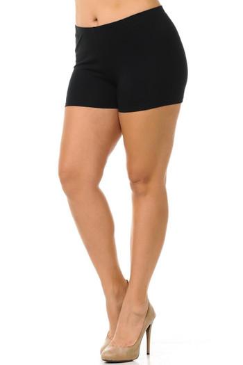 Wholesale USA Plus Size Cotton Boy Shorts