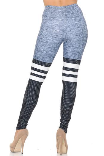 Wholesale Creamy Soft Split Sport Leggings - USA Fashion™