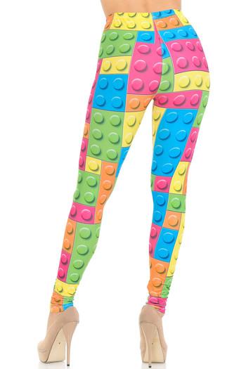 Wholesale Creamy Soft Lego Leggings - USA Fashion™