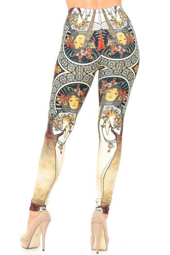 Wholesale Creamy Soft Gaia Mucha Leggings - USA Fashion™
