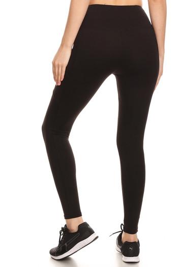 Wholesale Sport Light Fleece Basic Workout Leggings