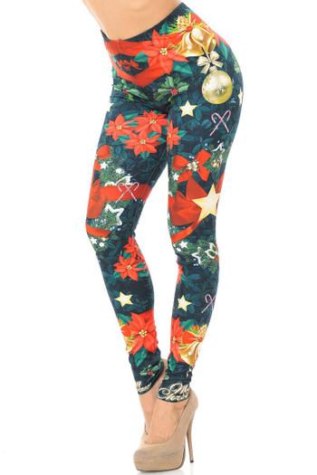 Wholesale Creamy Soft The Love Christmas Plus Size Leggings - USA Fashion™
