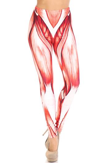 Wholesale Creamy Soft Muscle Plus Size Leggings - By USA Fashion™