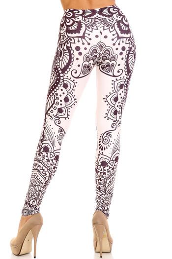 Wholesale Creamy Soft Creamy Tribal Mandala Leggings - USA Fashion™