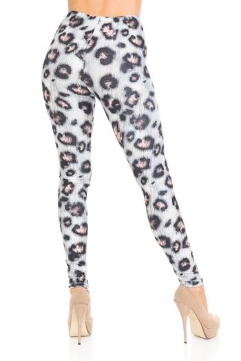 Wholesale Creamy Soft Moda Leopard Plus Size Leggings - USA Fashion™