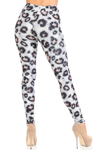 Wholesale Creamy Soft Moda Leopard Extra Plus Size Leggings - 3X-5X - USA Fashion™