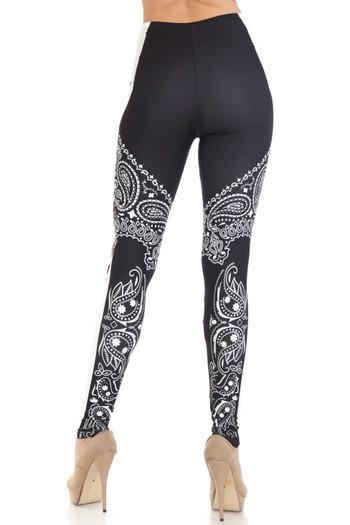 Wholesale Creamy Soft Bandana Stars Leggings - USA Fashion™