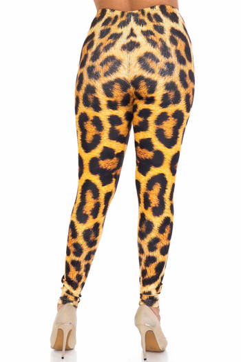 Wholesale Creamy Soft Spotted Panther Plus Size Leggings - USA Fashion™
