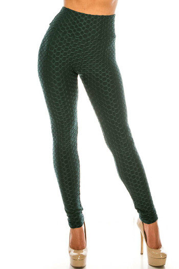 Wholesale Scrunch Butt Sport Leggings with Side Pockets