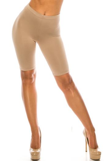 Wholesale USA Basic Athleisure Biker Shorts