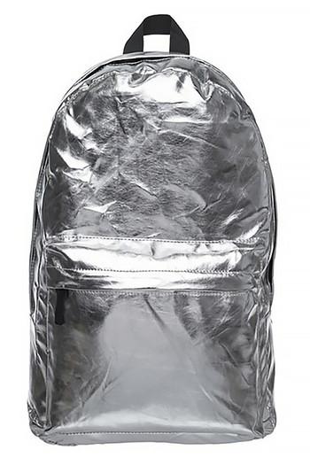 Wholesale Shiny Silver Metallic Backpack