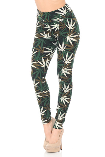 Wholesale Buttery Soft High Waisted Candyland Paisley Leggings