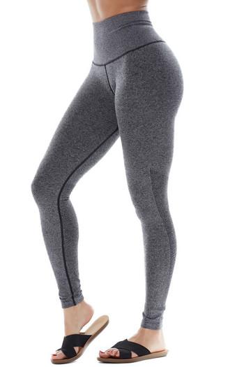 Wholesale Premium Fitness  Melange Sport Leggings
