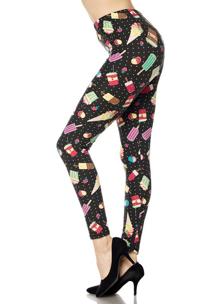 Wholesale Buttery Soft Delicious Summer Treats Leggings