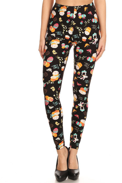 Wholesale Buttery Soft Easter Extravaganza Leggings