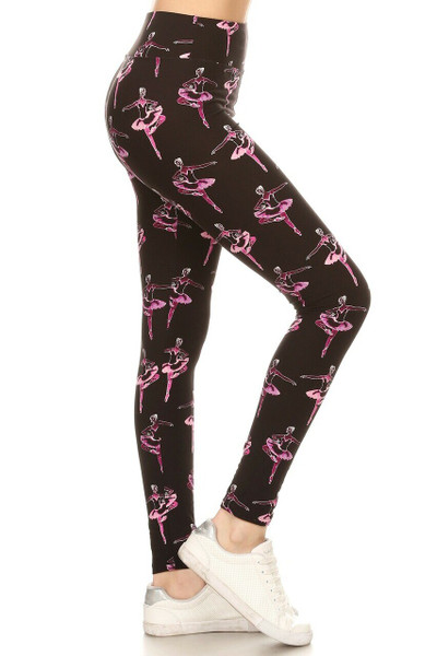 Wholesale Buttery Soft Ballerina Plus Size High Waisted Leggings