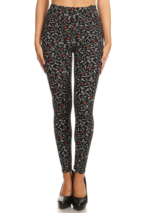 Wholesale Buttery Soft College Student Plus Size Leggings - LIMITED EDITION