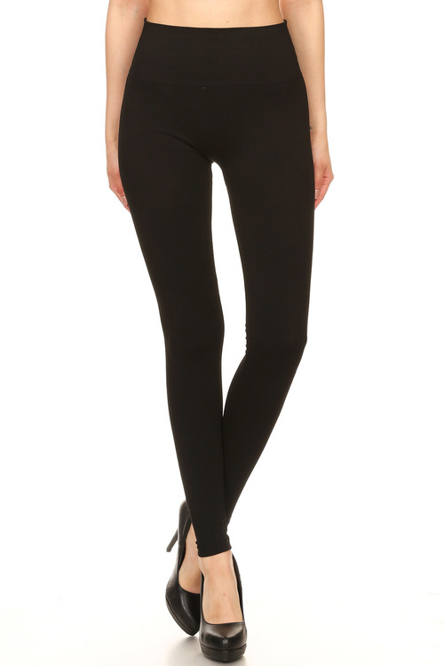 Wholesale Premium High Waisted Basic Leggings