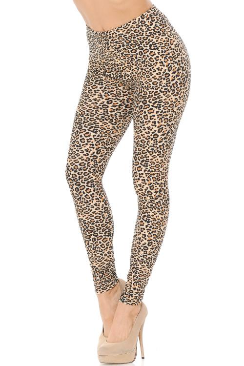 Wholesale Buttery Soft Savage Leopard Leggings