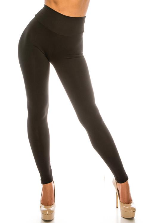 Wholesale USA Basic High Waisted Athleisure Leggings