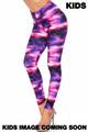 Wholesale Creamy Soft Purple Mist Kids Leggings - USA Fashion™