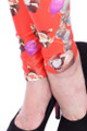 Close up fabric image of DP-1280KDK - Wholesale Premium Graphic Leggings