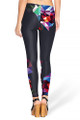 Back side image of DP-1487KDK - Wholesale Premium Graphic Leggings