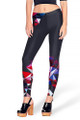 Front side image of DP-1487KDK - Wholesale Premium Graphic Leggings