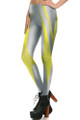 Left side leg image of DP-1690KDK - Wholesale Premium Graphic Leggings