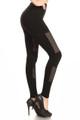 Wholesale Premium Duo Mesh Seamless Leggings