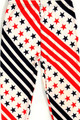 Wholesale Buttery Soft Swirling USA Flag Kids Leggings