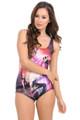 Wholesale Llama Galaxy Bodysuit