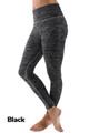 Black Wholesale Ombre Fusion Black Workout Leggings