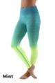 Mint Wholesale Ombre Fusion Workout Leggings