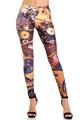 Wholesale Premium Graphic Print Medley Steampunk Leggings