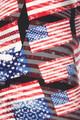 Wholesale Buttery Soft 3D Hologram USA Flag Leggings