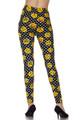 Wholesale Buttery Soft Retro Pixel Arcade Emoji Leggings
