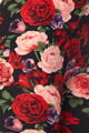 Close-up fabric image of Wholesale Buttery Soft Vivid Rose Capris