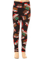 Wholesale Buttery Soft Christmas Kitty Cats Kids Leggings